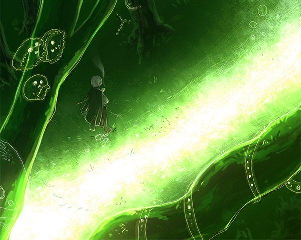 『蟲師』の光脈